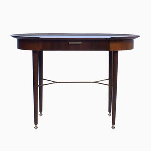 Vintage Walnut Side Table Or Desk by A.A. Patijn for Zijlstra Joure
