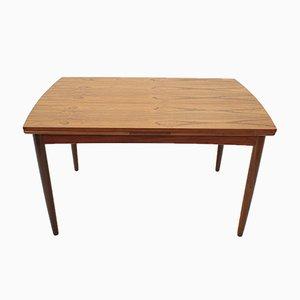 Erweiterbarer dänischer Tisch aus Teak, 1960er