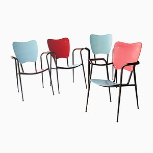 Italian Chairs by Doro Cundo, 1980s, Set of 4