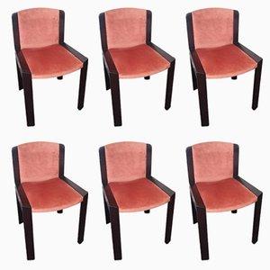 Vintage Modell 300 Stühle von Joe Colombo für Pozzi, 1969, 6er Set