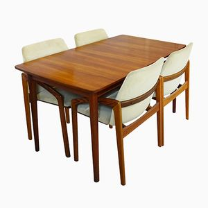 Mid-Century Danish Extending Dining Table by Nils Jonsson