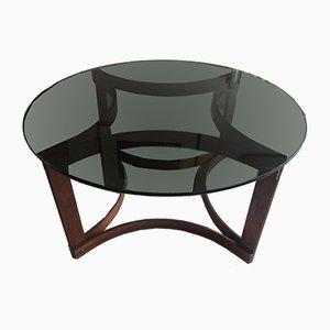 Tavolino da caffè in palissandro di Ingmar Relling per Westnofa, anni '60