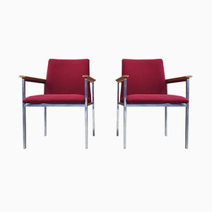 Armchairs by Sigvard Bernadotte for France & Søn, 1970s, Set of 2
