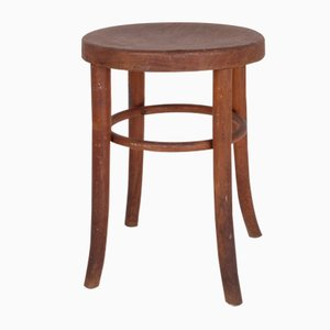 Bentwood Stool by Michael Thonet, 1920s