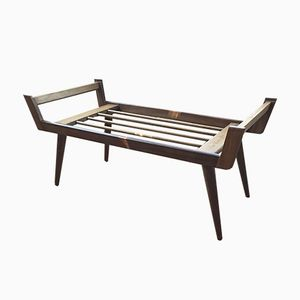Vintage Wooden Luggage Rack