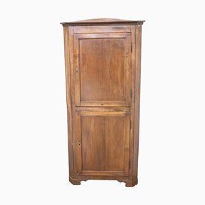 Solid Walnut Corner Cabinet, 1880s