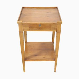 Table Basse Antique en Bois Massif