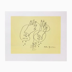 Impresión en papel fotográfico Manos Cortas de Federico García Lorca