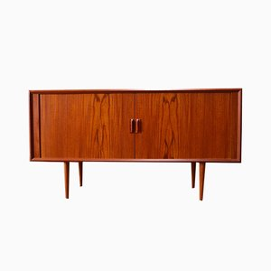 Small Danish Teak Sideboard by Svend Aage Madsen for Faarup, 1950s