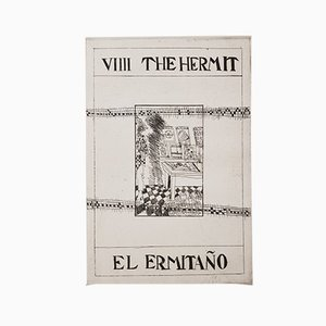El Ermitaño Engraving by Carmen Grau, 1984