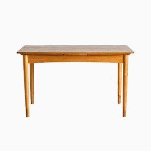 Danish Vintage Teak Extendable Dining Table, 1960s