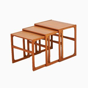 Vintage Nesting Tables from BR Gelsted
