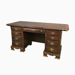 Schreibtisch aus Mahagoni, 1950er