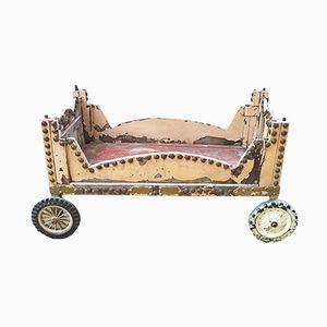 Rosa Vintage Kinderwagen
