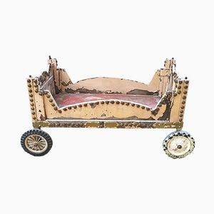 Vintage Pink Children's Cart