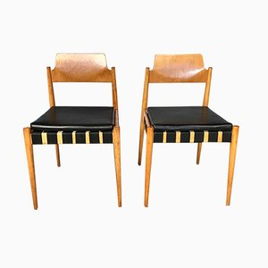 German SE 119 Chair by Egon Eiermann for Wilde+Spieth, 1950s, Set of 2