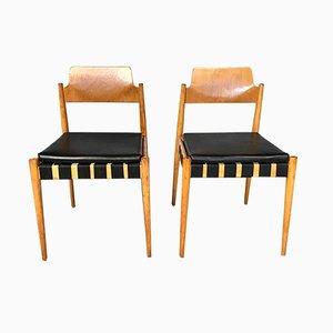 Sedia SE 119 di Egon Eiermann per Wilde+Spieth, Germania, anni '50, set di 2