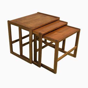 Teak Nesting Tables, 1970s
