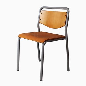 Danish Industrial Stacking Chair, 1970s