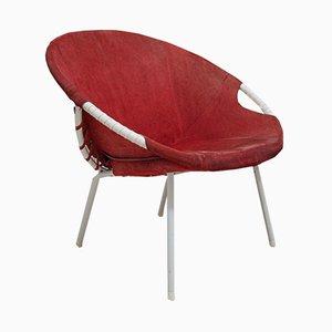 Runder Stuhl von Lusch Erzeugnis für Lusch & Co., 1960er