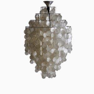 Lampe à Suspension FUN 1DM Vintage par Verner Panton pour J. Lüber AG