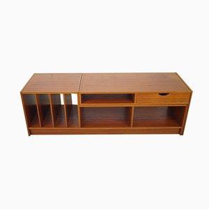 Mueble de salón modular sueco de wengué, años 70