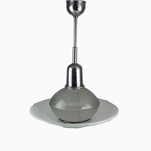 Lámpara de techo Mid-Century de Holophane
