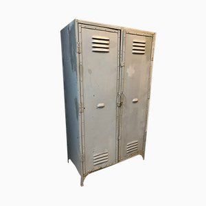 Vintage Industrial Metal Locker