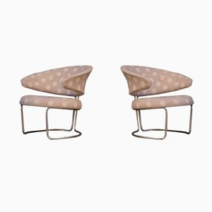 Easy Chairs by Grete Jalk for Fritz Hansen, 1968, Set of 2