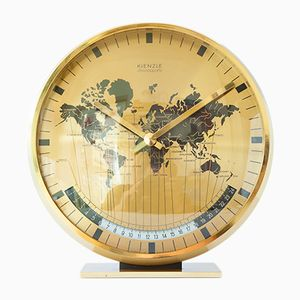 Vintage World Time Table Clock from Kienzle, 1970s
