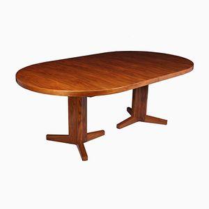 Großer Esstisch aus Nussholz von Gordon Russell, 1970er