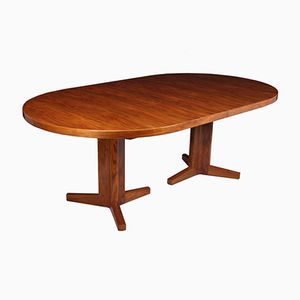Large Walnut Dining Table by Gordon Russell, 1970s