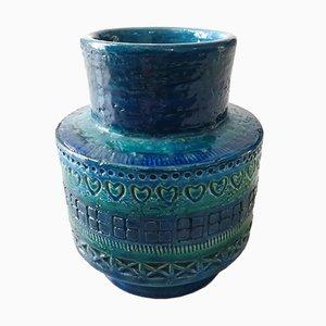 Keramikvase von Aldo Londi für Bitossi, 1960er
