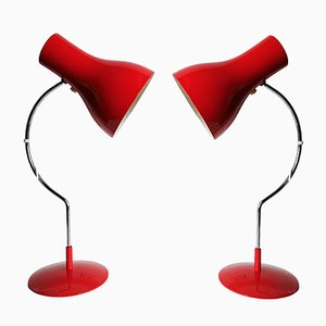 Vintage Model 0521 Desk Lamps by Josef Hurka for Napako, Set of 2