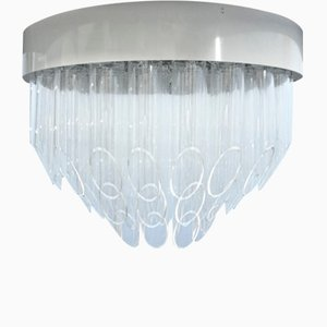 Lámpara de techo Pop Art de plexiglás, años 60