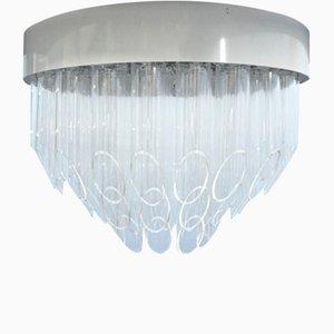 Pop Art Plexiglass Ceiling Lamp, 1960s