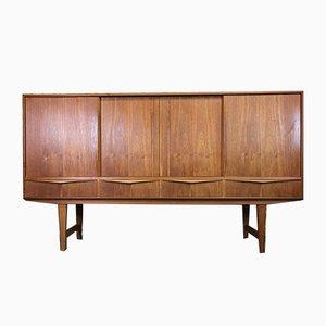 Haut Buffet Vintage en Teck par E.W. Bach pour Sejling, Danemark