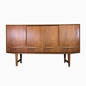 Vintage Danish Teak Highboard by E.W. Bach for Sejling