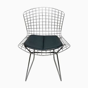 Mid-Century Model 420C Chair in Chromed Steel Wire by Harry Bertoia for Knoll