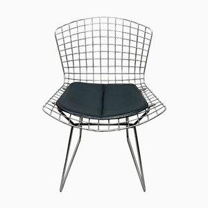 Mid-Century Modell 420C Stuhl aus verchromtem Stahldraht von Harry Bertoia für Knoll