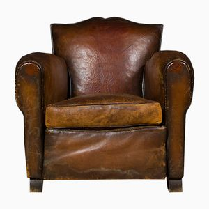 Vintage French Club Chair, 1930s
