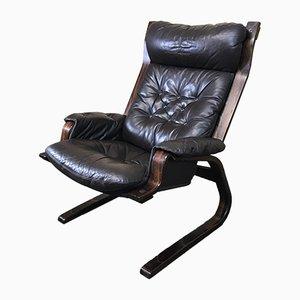 Dänischer Vintage Sessel aus Palisander, 1960er