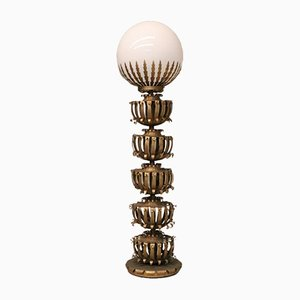 Lampadaire Globe de Maison Jansen, 1930s