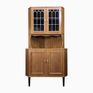 Danish Modern Teak Corner Cabinet, 1960s
