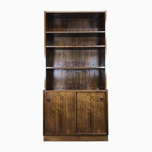 Vintage Danish Teak & Rosewood Bookshelf