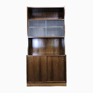 Vintage Danish Teak & Rosewood Cabinet