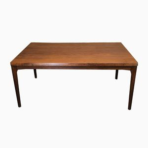 Large Vintage Extendable Teak Dining Table by Henning Kjaernulf