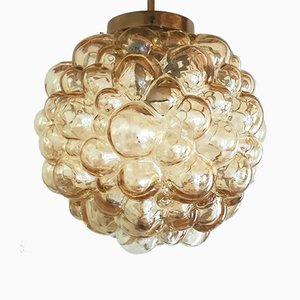 Bubble Pendant Lamp by Helena Tynell for Glashütte Limburg, 1960s