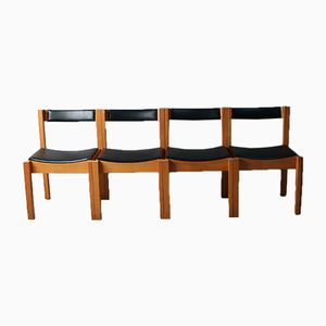 Mid-Century Jigsaw Chairs von Clive Bacon, 4er Set