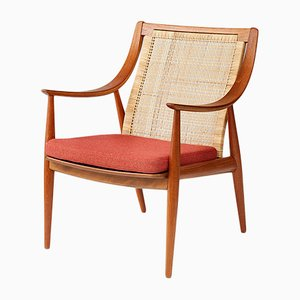 Teak Lounge Chair Peter Hvidt for France & Son, 1950s